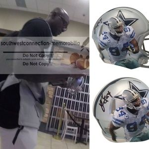 Demarcus Ware Signed Dallas Cowboys Mini Helmet